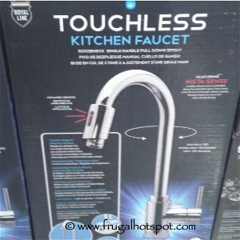 Touchless Kitchen Faucet Royal Line by Costco Deal Royal Line Touchless Kitchen Faucet 149 99
