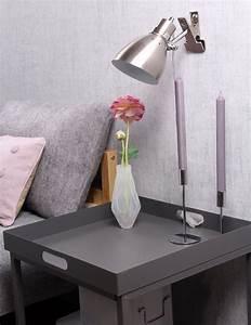 Lampe Pince Lit : lampe de lit a pince steinhauer spring pratique et tendance ~ Teatrodelosmanantiales.com Idées de Décoration