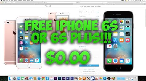 free iphone how to get a free iphone 6s 6s plus from apple