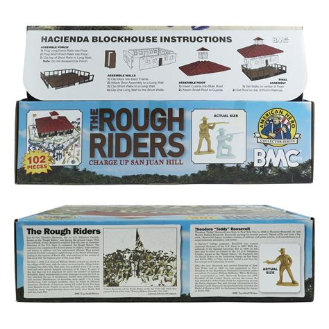 BMC The Rough Riders Charge Up San Juan Hill - 102pc Boxed ...