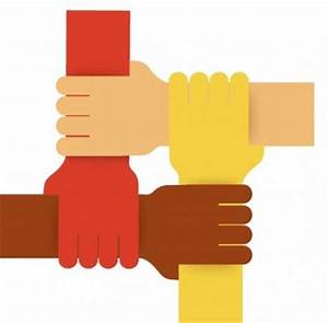 Vector Four Colours Teamwork Hands Vector Art - Ai, Svg ...