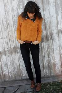 Mustard Knitted Roxy Sweaters Brown Vintage Shoes | u0026quot;Still Mad for Mustardu0026quot; by themoptop ...