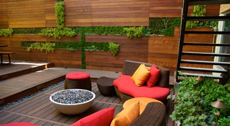 nyc rooftop living spaces landscape design new