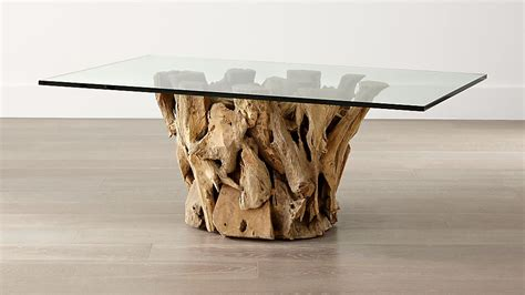 Raising the standard of the daily coffee break. Driftwood Coffee Table   Crate and Barrel