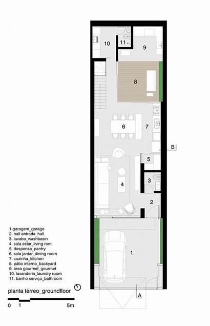 Apr Studio Arquitetura Ag Fabriciomora Narrow Floor