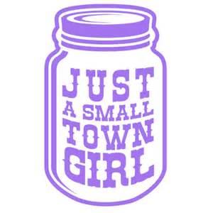 handmade headbands small town girl jar decal stirred strung