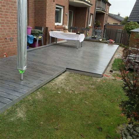aufbau wpc terrasse technisches zeichenb 252 ro montage aufbau fertigung