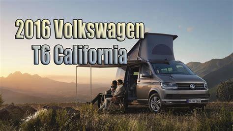 New 2016 Volkswagen T6 California Camper Van