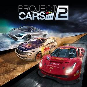 Project Cars 2  2017  Playstation 4 Box Cover Art