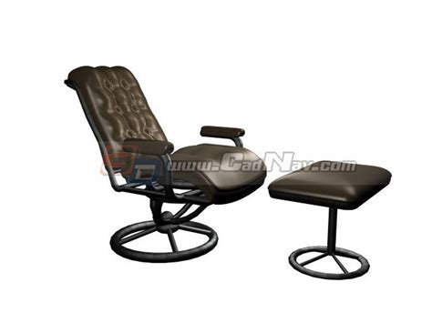 eames lounge chair with ottoman 3d model 3ds max files