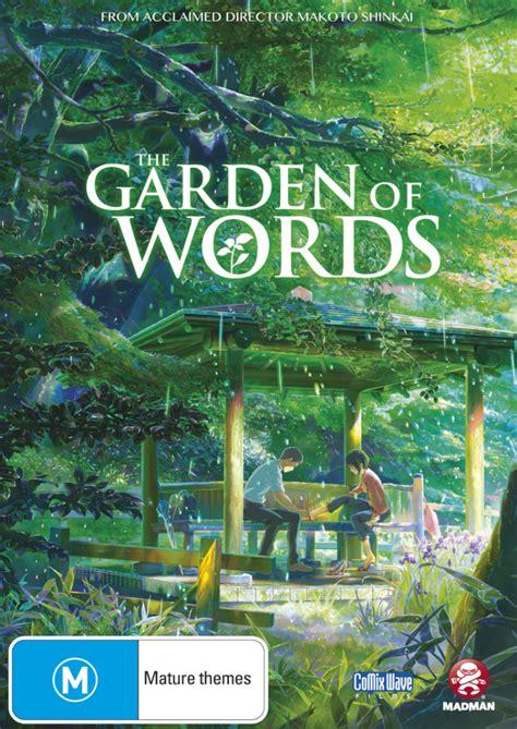 garden of words giveaway the garden of words closed trespass magazine