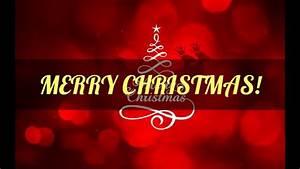 Merry Christmas congratulations - YouTube  Merry