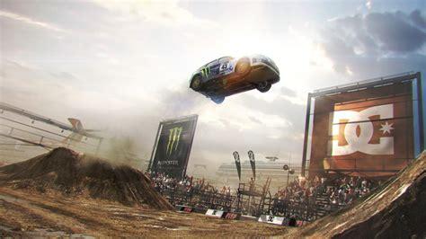 Download Wallpaper 1920x1080 Dirt, Car, Jump, Show