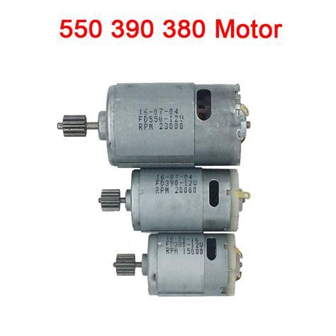 Motor Electric 380 by Children Electric Car 12v Dc Motor Remote Cars 12v