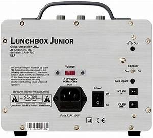 Zt Amplifiers Lunchbox Junior Combo Amp With Pedal Power