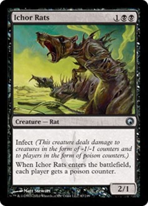 ichor rats scars of mirrodin gatherer magic the