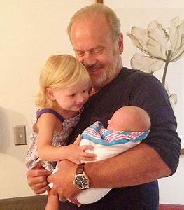 Kelsey Grammer's Wife Kayte Gives Birth to Baby Boy Gabriel