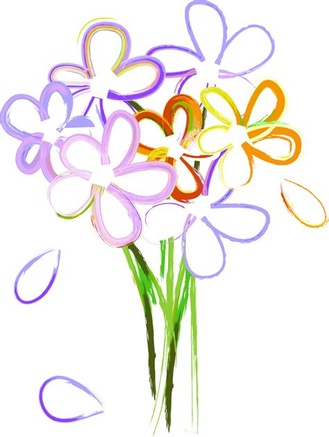 bouquet  flowers clip art   bouquet  flowers