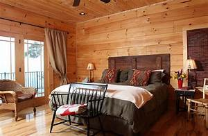 30 ingenious wooden headboard ideas for a trendy bedroom With barn wood rooms
