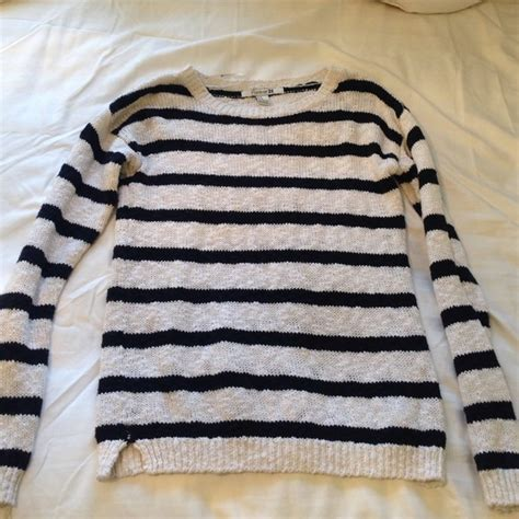 black and white striped sweater 58 forever 21 sweaters black and white striped knit