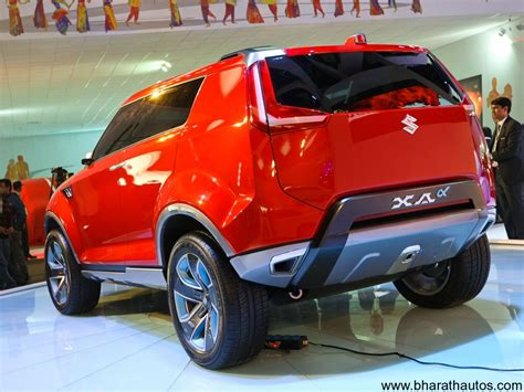 Maruti Suzuki Xa Alpha by 2012 Auto Expo Maruti Suzuki Unveils Xa Alpha Suv Concept