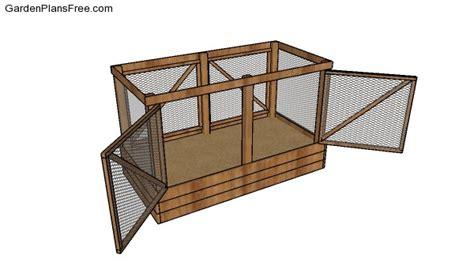 deer proof raised garden bed  diy plans