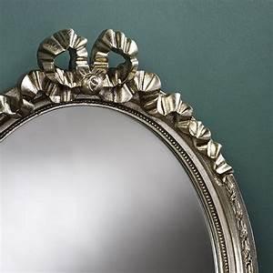 Runder Spiegel Silber : ovaler spiegel cosy silber bei usi maison 2 jahre garantie ~ Whattoseeinmadrid.com Haus und Dekorationen