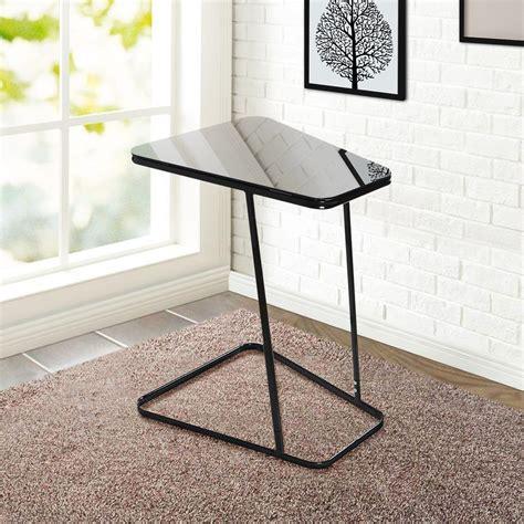 Black Glass End Table  Home Furniture Design. Stove Range Hood. Gamma Furniture. Large Letters For Wall. Wallpaper Frame