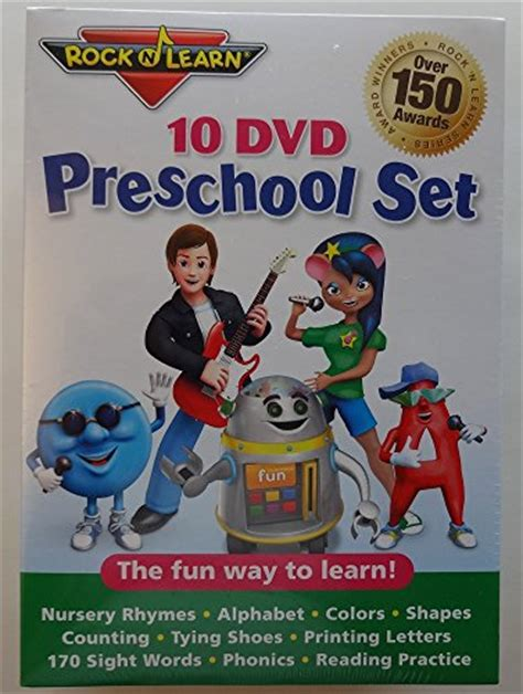 10 dvd preschool set by rock n learn ebay 109 | 51O ZNIJaNL