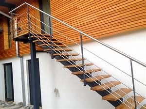 Marche D Escalier En Chene : bas rhin metal concept escalier ferronnerie d 39 art alsace ferronnier strasbourg ~ Melissatoandfro.com Idées de Décoration