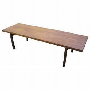 Table Basse Longue : longue table basse en palissandre ann es 60 design market ~ Teatrodelosmanantiales.com Idées de Décoration