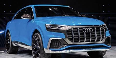 2018 Audi Q8 Concept Debuts In Detroit Motor Show (video
