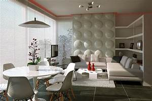espace salon et salle a manger de design contemporain With salon et salle a manger design