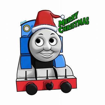 Thomas Clipart Tank Engine Christmas Clipartmag