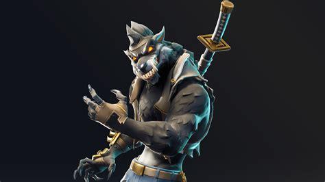 Dire Werewolf Fortnite Battle Royale Season 6 Skin #4286