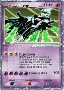 Dan Phantom EX Pokemon Card
