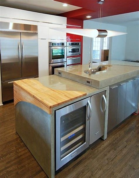 kitchen sink built into countertop what a great idea to have a cutting board built into your