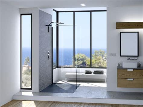 occultant fenetre salle de bain une salle de bains avec une fen 234 tre dans un angle sombre maisonapart