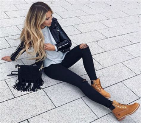 Ideas how to wear timberland boots for girl 56 - Fashion Best