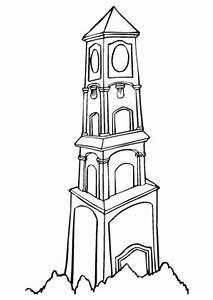 Ausmalbilder Schner Turm Trme Malvorlagen