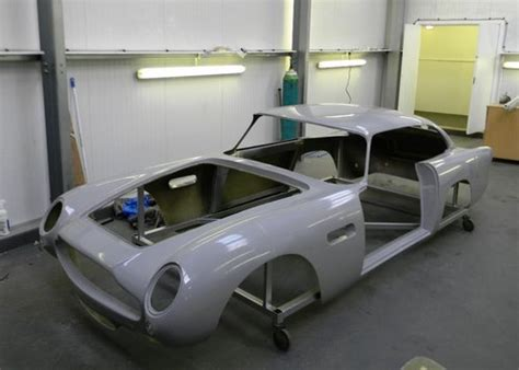 Aston Martin Db5 Fibreglass Shell Sold By Auction