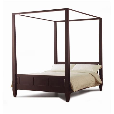 Size Canopy Bed Frame by Size Modern Canopy Bed Frame In From Hearts Attic Bed