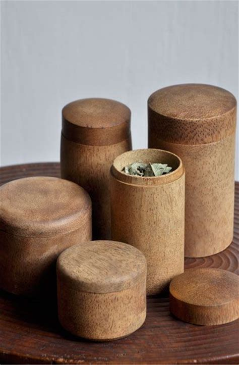 wooden containers covet pinterest bamboo teas and