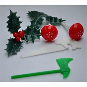 Decoration Buche De Noel Comestible : sp cial f tes d co b che de no l houx champignons ~ Melissatoandfro.com Idées de Décoration