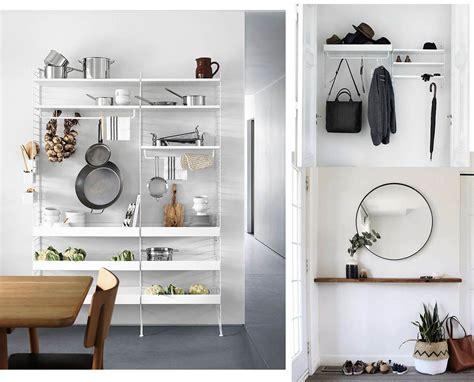 mensole ingresso cinque idee per arredare casa con mensole moderne e di