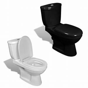 Toilette Schwarz Ablagerung : design stand toilette wc bodenstehend keramik sitz inkl sp lkasten wei schwarz ebay ~ Eleganceandgraceweddings.com Haus und Dekorationen