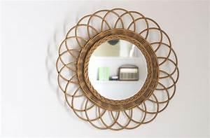 Miroir Rotin Noir : miroir en rotin tendance o trouver des miroirs en rotin abordables h ll blogzine miroir en ~ Melissatoandfro.com Idées de Décoration