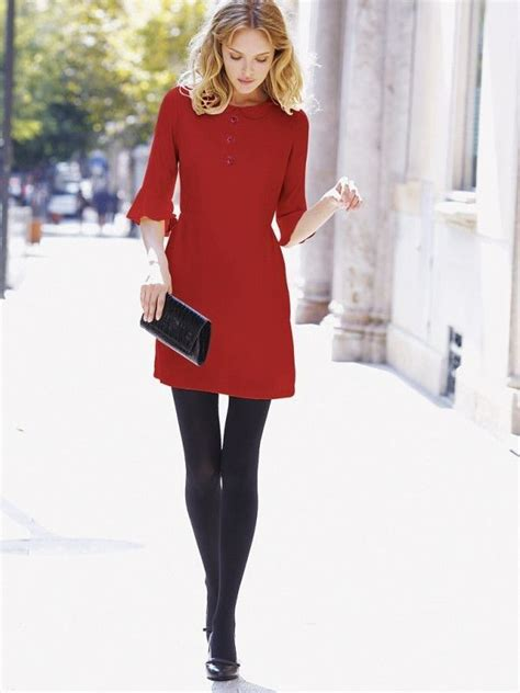 17 Best ideas about Red Dress Outfit on Pinterest   Rocker outfit Dress outfits and Long skirts
