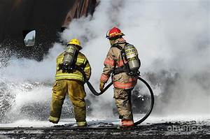 Firefighters In Action 11 Photograph by Bob Christopher