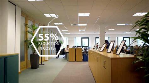 philips led lighting solution for e on offices uk
